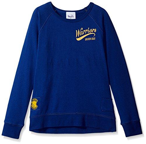 NBA Golden State Warriors Damen Dugout Reversible Pullover Sweatshirt, Damen, Touch Dugout Reversible Sweatshirt, königsblau, Medium - Reversible Damen-pullover