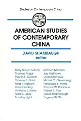 American Studies of Contemporary China (Studies on Contemporary China (M.E. Sharpe Paperback)) by David L. Shambaugh (1994-05-02)