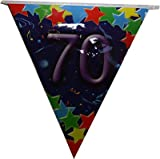 Guirlande anniversaire 70 ans (6 m)