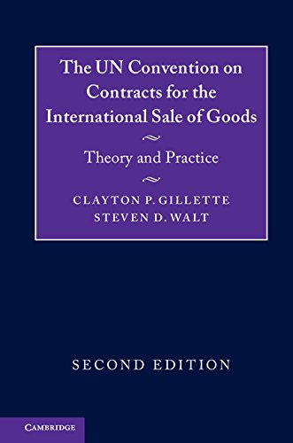 Gillette Company (The UN Convention on Contracts for the International Sale of Goods: Theory and Practice (English Edition))