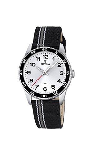 Festina Unisex-Child Quartz Watch, Analogue Classic Display and Textile Strap F16906/1