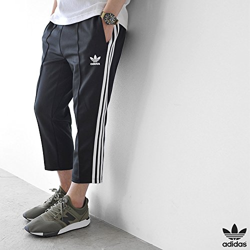 adidas Sst Relax Crop Track, Pantalone Uomo Legend Ink S10/Bianco