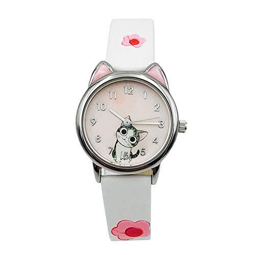 Parametros del producto:Material de la correa: cueroMaterial de la caja: AleaciónMaterial del espejo reloj: espejo de cristal ordinarioTipo de movimiento: movimiento de cuarzo.Tipo de reloj: NiñosProfundidad a prueba de agua: 3ATMGrosor del dial: 8mm...
