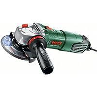 Bosch DIY Winkelschleifer PWS 1000-125, Handgriff, Schutzhaube, Koffer (1000 W, Leerlaufdrehzahl: 11.000 min-1, Schleifscheiben-Ø: 125 mm)