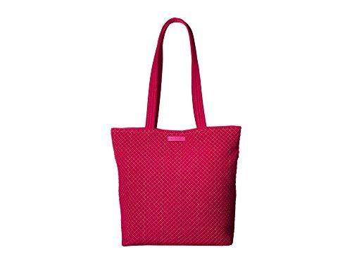 Vera Bradley Women's Iconic Tote Bag Passion Pink One Size - Aus Bradley Handtaschen Vera Leder