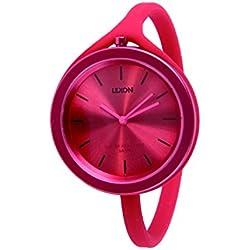 Red Take Time Aluminium Large Watch