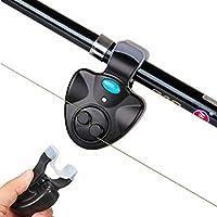 Plat Firm ZANLURE BA-01 Mini Electrónica ABS inalámbrico Sensible Pesca Mordedura Alarma Sonido Corriente LED