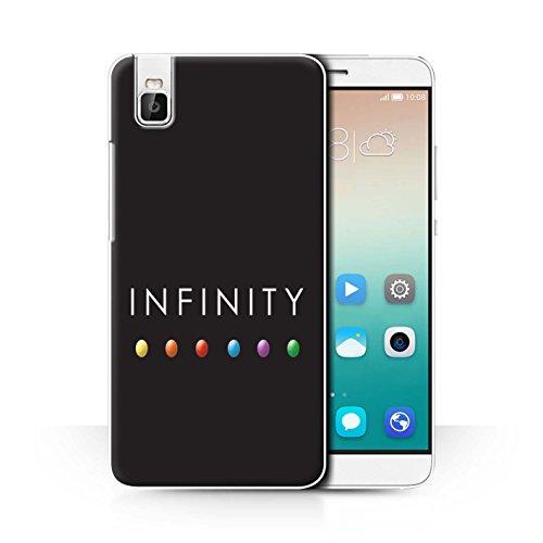 Stuff4® Hülle/Case für Huawei Honor 7i/ShotX/Leistung Edelsteine Muster/Infinity War Inspiriert Kollektion