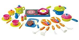 PlayGo 3686 - Accesorios para Servicio de Cocina de Juego, 30-pc