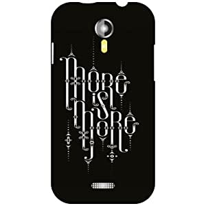 Micromax A117 Canvas Magnus Back Cover - Its Here Designer Cases