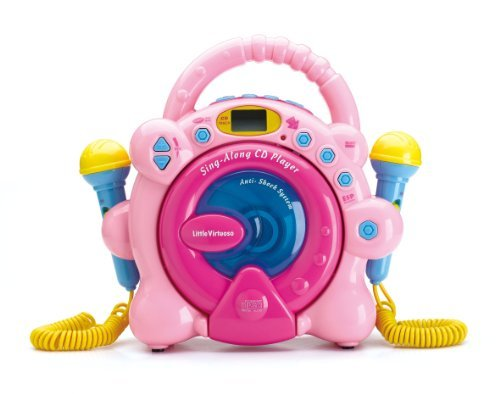 Little Virtuoso Sing Along CD Player Hot Pink Special Limited Edition