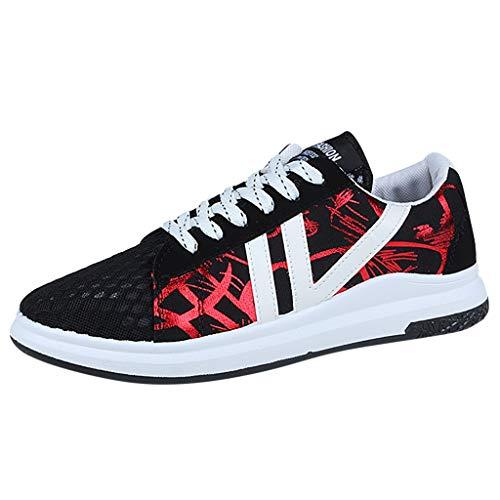 LILICAT_Schuhe Herren Sneaker Freizeit Turnschuhe Freizeitschuhe Low Laufschuhe Atmungsaktiv Sportschuhe Schnürer Wanderschuhe Leicht Fitness Leicht rutschfeste Schuhe (Kostüm Schuhe Ariel)