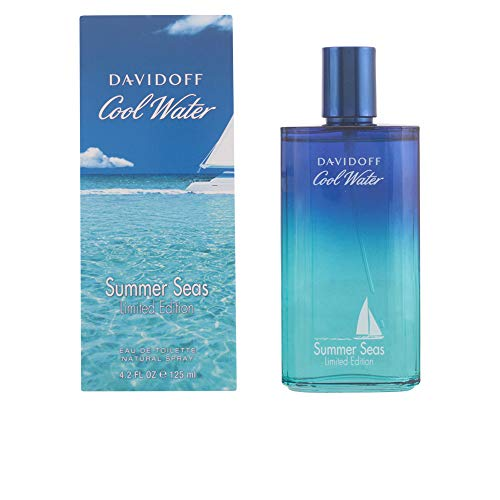 Davidoff Cool Water homme/men, Summer Seas Eau de Toilette Vaporisateur (Limited Edition), 1er Pack (1 x 125 g) -