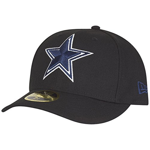 New Era 59Fifty LOW PROFILE Cap - Dallas Cowboys - 7 3/8 (Low Cap 3d Profile)