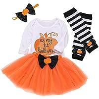 Invierno Fiesta Conjunto de Trajes de Disfraces de Halloween para bebés recién Nacidos con Falda de tutú de Arco de Mameluco