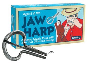 Preisvergleich Produktbild Jaw Harp by Schylling - Child's old fashioned musical instrument