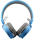 Cabriza BT-69 SH12 HD Sports Bluetooth V4.1 Wired/Wireless Stereo Headphone with Extra Bass & Built in Microphone Compatible for All Smart Devices {Random Colour}