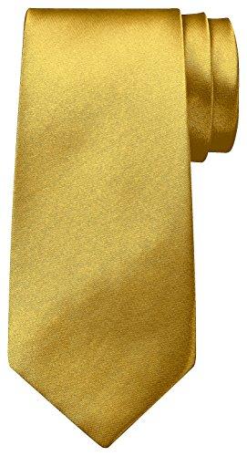 BomGuard Krawatte für Herren gold luxusgold I Männer Krawatte schwarz,rotetc. für Hochzeit, Party oder edele Anlässe I Trendy Tie I