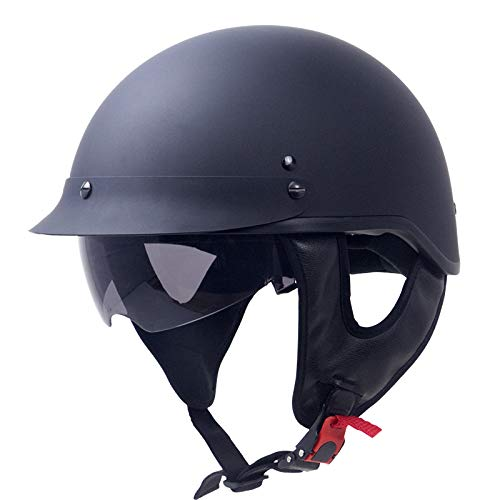 AVANI EXCHANGE Casco moto Zombies Racing ZR-205V DOT Certified Cruiser Half Face