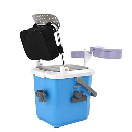 perfecthome 22L Mini Fishing Box Ultraleichtes bequemes Mehrzweck-Vierbein-Elternteil-Kind-Angelausrüstung-Organisator für Angeln Hobby-Vatergeschenke (Magnet-teiler)