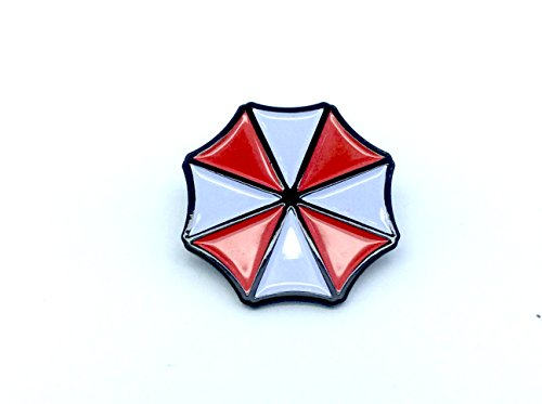 Patch Nation Umbrella Resident Evil Cosplay Metal Pin Badge