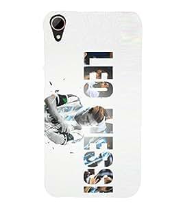 PRINTSHOPPII FOOTBALL Back Case Cover for HTC Desire 828 Dual SIM