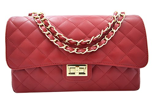6f5c9cb3c418 shoulder bag in quilted nappa leather