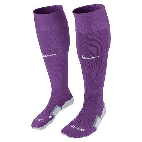 Nike Knee High Team Stadium II OTC Socks, Bold Berry/Court Purple/White, S, 803326-550 (Berry Fußbett)