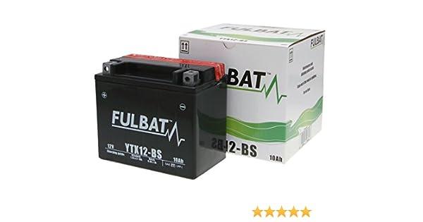 Batterie Fulbat YTX12-BS f/ür Daelim S1 125 FI Bj 7,50 EUR Batteriepfand 2007-2008 inkl