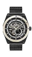 Hugo Boss Hommes Squelette Automatique Montres bracelet avec bracelet en Acier Inoxydable - 1513655