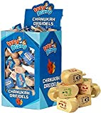 Chanukka Kreisel - Kreisel für Chanukkah aus Holz Preis für 4 (Hanukkah Dreydle, sewiwon)