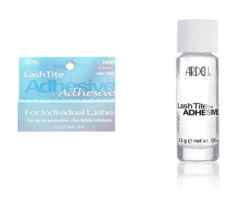 Ardell Lashtite Glue Adhesive For Individual Lashes (Clear) 3.5G (.125Oz) by Ardell