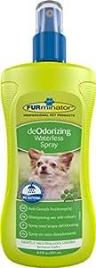 FURminator Anti-Geruch Trockenspray für Hunde, neutralisiert sanft Gerüche bis zum nächsten Bad, 1 Sprühflasche (1 x 250 ml)
