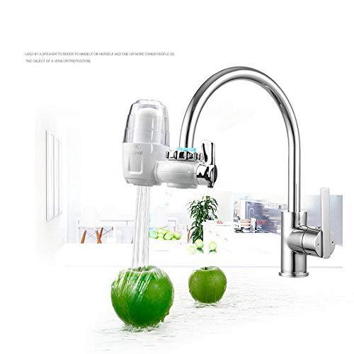 LEENY Küchenwasserhahn Wasserfilter Home Wasserhahnfilter Keramikfilter Element Stufe 7 Filterung Entchlorung Bakterienentfernung Rost Organische Materie Zusätzlich zu Sediment Schwermetall