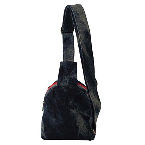 Imagen de chang spent nueva bolsa de mensajero de la lona del pecho de vaquero pequeño paquete cuadrado de las mujeres , a alternativa