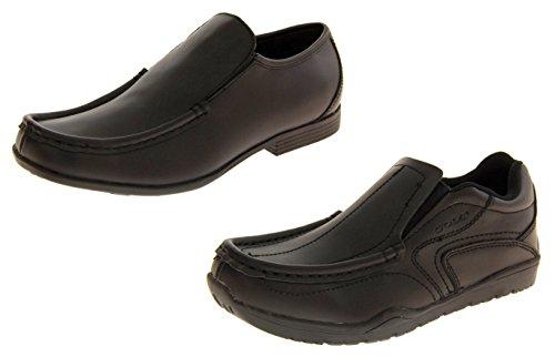 Gola Cuir Enduit Chaussures de l'école Formelle Garçons