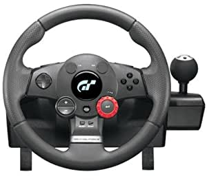 LOGITECH Driving Force GT - Volant gaming PS2 et PS3 + Hub 4 ports USB 2.0 Connect4S