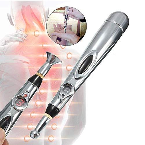 DEWIN Elektrischer Akupunktur Stift - Meridian Energie Massage Stift Es ist für Schmerzen in den Hals Wirbel,Schultern,Taille,Füße.