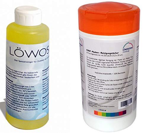 Löwensteinmedical Löwosan + Reinigungstücher in Zitrus 2 Teile