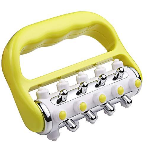 Fascia y anticelulitis rodillo masajeador muscular rodillo de liberación de grasa Mini Trigger Point Deep Tissue Myofascial liberación herramienta cuerpo masajeador para hombres y mujeres