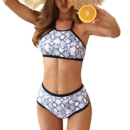(Malloom-Bekleidung Bikini Thong Bikini Beach Set Push-up-Bikini-Badeanzug-Badeanzug Bikini Brustgurt entfernt Werden kann, Zwei Arten Bademode Bademode Frauen Badeanzug)