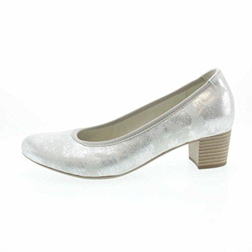 Gabor 65380-61, Scarpe col tacco donna argento ghiaccio * Ghiaccio ...