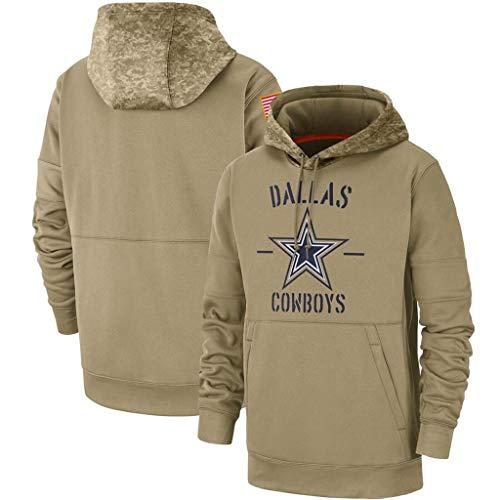 ZJFSL NFL Football Jersey Felpa da Football Americano da Uomo Patriots Browns Chiefs Salute to Service Felpa Con Cappuccio NFL Jersey