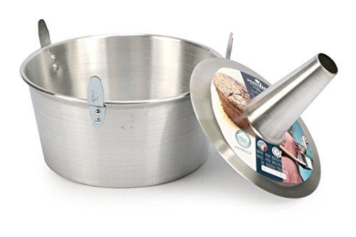 Pentalux 03927 - Bakery Line - Stampo torta in alluminio con cono estraibile, alluminio, Diametro 26 cm