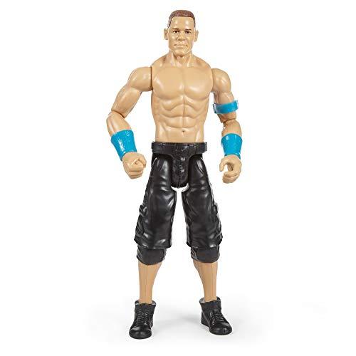 Mattel FBH22 WWE John Cena 30 cm Basis Figur, Spielzeug Actionfiguren ab 6 Jahren