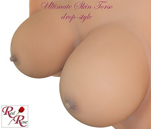 Red Rose - Ultimate Skin Torso - Silikonbrüste Drop Style - Cup Grösse D