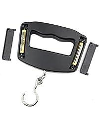 Switty Nueva escala de gancho 50Kg/10g LCD Digital electrónico portátil que cuelga del peso del equipaje