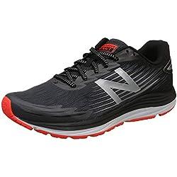 New Balance Synact, Zapatillas de Running para Hombre, Gris (Magnet/Black Lf1), 43 EU