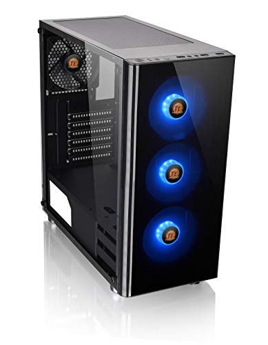 Thermaltake V200 Tempered Glass Edition RGB Mid Tower Chassis/Cassa Del PC/Nero