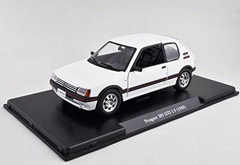 Voiture Miniature Peugeot 205 - Peugeot 205 GTI 1.9 1988 Echelle 1/24